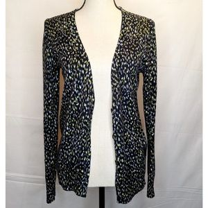 Ann Taylor Crew Neck Button Front Cardigan Size S